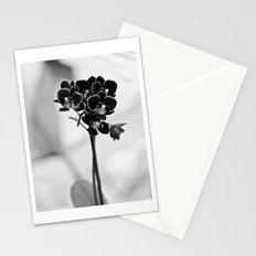 Vegetal Portrait II: Black Orchid Stationery Cards