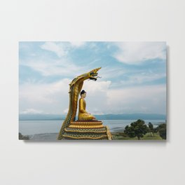 Myanmar – Naga on the Hillside Metal Print