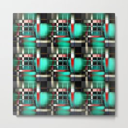 Abstract Windows Metal Print