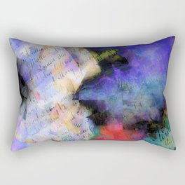 paper & paint Rectangular Pillow