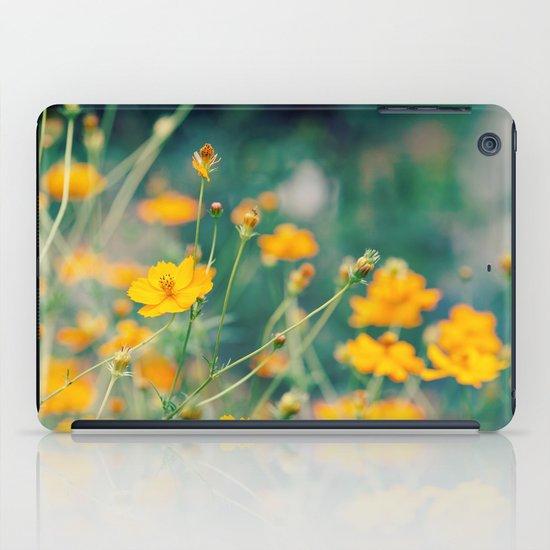 Orange Cosmos iPad Case