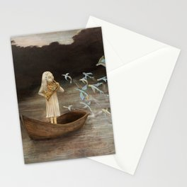 Solo at Dawn Stationery Cards