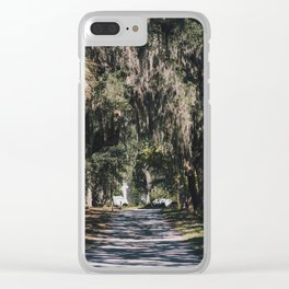 Bonaventure Cemetery - Savannah, Georgia II Clear iPhone Case