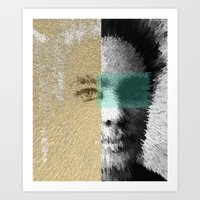 jon contino Art Prints featuring Jon Exploded by Jose Luis