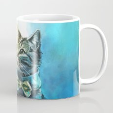 Handsome Cat Coffee Mug