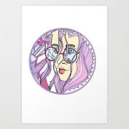 pruebacolor Art Print