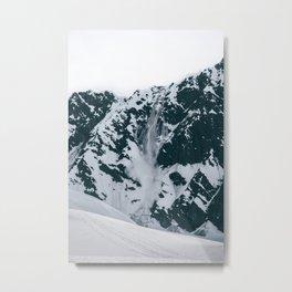 Avalanche! Metal Print