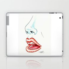 Watercolor Lips Laptop & iPad Skin