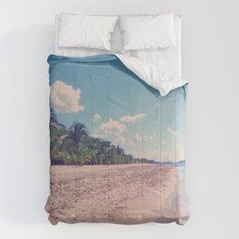 Mexico Beach Comforters