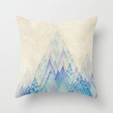 Let's Move Mountains Throw Pillow