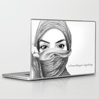 kiki Laptop & iPad Skins featuring Kiki by BenHucke