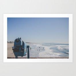 Sight and Surf - Venice Beach, California Art Print