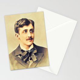 Marcel Proust, Literary Legend Stationery Cards