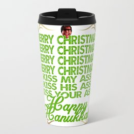Kiss my Christmas Travel Mug
