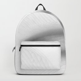 black and white, abstract Backpack