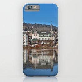 Jugendstil Hotel Moselle River iPhone Case