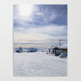 Little Whistler Peak Poster