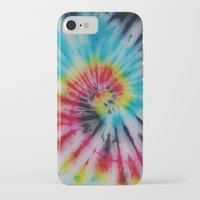 tie dye iPhone & iPod Cases featuring tie dye  by Jess Hall