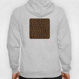 Leopard Print - Dark Hoody