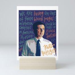 Pete Buttigieg. Mini Art Print