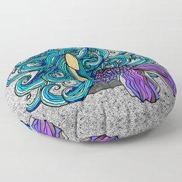2017 Blue Mermaid Floor Pillow