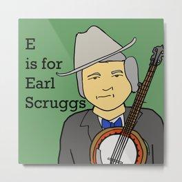 Earl Scruggs Metal Print