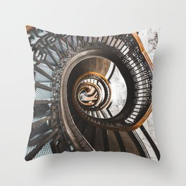 Stairs of Knowledge Throw Pillow