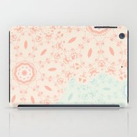 lace iPad Cases featuring Lace by LindsayMichelle