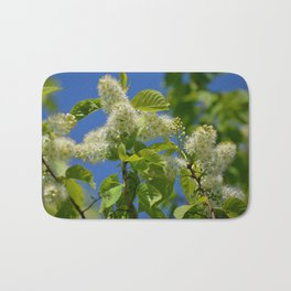 Mayday Tree in Bloom Bath Mat