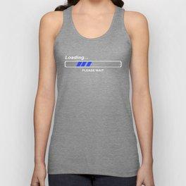 Coole Geek T-Shirts LOADING Nerd Admin Computer PC Big Bang Theory Fun Sheldon Funny Geek Nerd Unisex Tank Top