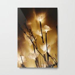 Flower Light Metal Print