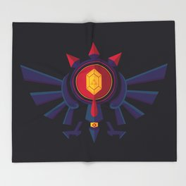 An Eye for the Truth Throw Blanket