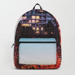 Natural IR Leaves Backpack