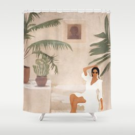 Graceful Resting II Shower Curtain