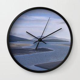 Seaside Blues Wall Clock