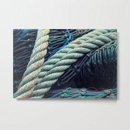 Fishermans Rope  Metal Print