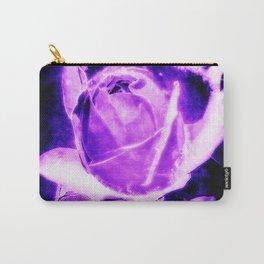 Purple Rain (Black Background) Carry-All Pouch