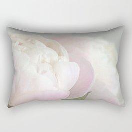 Peony in Winter Rectangular Pillow