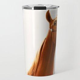horse collection. arabian red Travel Mug