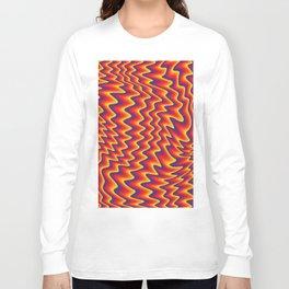 liquify illusion Long Sleeve T-shirt