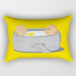 Eggs Jacuzzi Rectangular Pillow