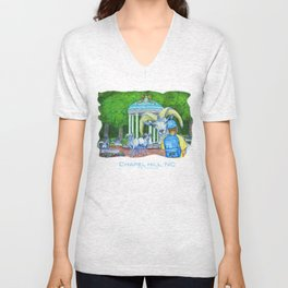 Locals Only  - Chapel Hill, NC Unisex V-Neck