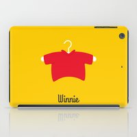 winnie the pooh iPad Cases featuring Winnie by Jane Mathieu