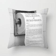 Toilet Paper Throw Pillow