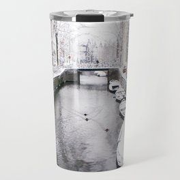 AMSTERDAM / Winter on the Canals Travel Mug