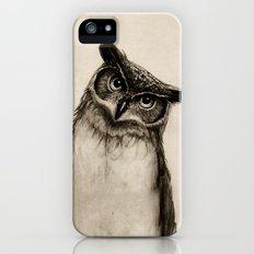 Owl Sketch iPhone (5, 5s) Slim Case