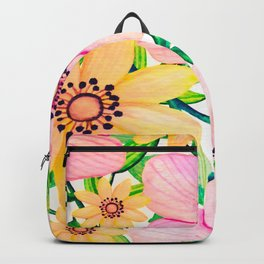 Pink and Yellow Happiness Backpack