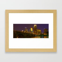 Stone Arch Bridge - Minneapolis MN Framed Art Print