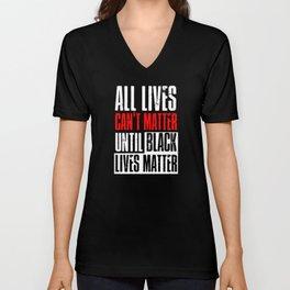 Black Lives Matter Outfit Ideas Unisex V-Neck