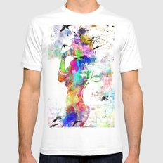 woman Mens Fitted Tee MEDIUM White